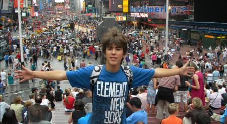 Voyage scolaire New York Time square